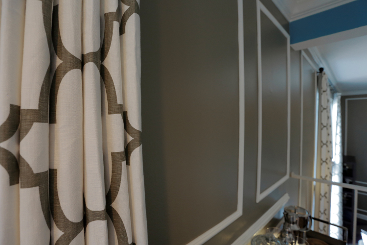 Santa Monica Drapery and Moulding Details by MbFi