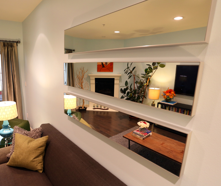 Los Angeles Living Room by MbFi