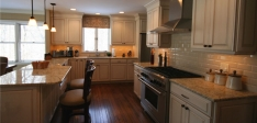 Transitional kitchen