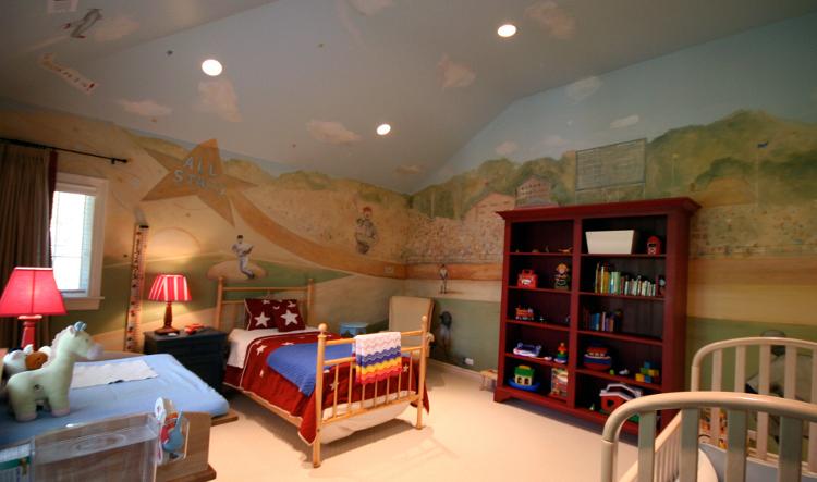 Boys Room in Highland Park