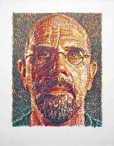 self portrait 2007 by chuck close essay